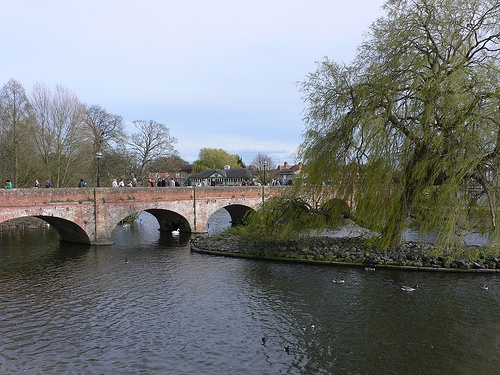 The river at Stratford-upon-Avon Photo: Heatheronhertravels.com