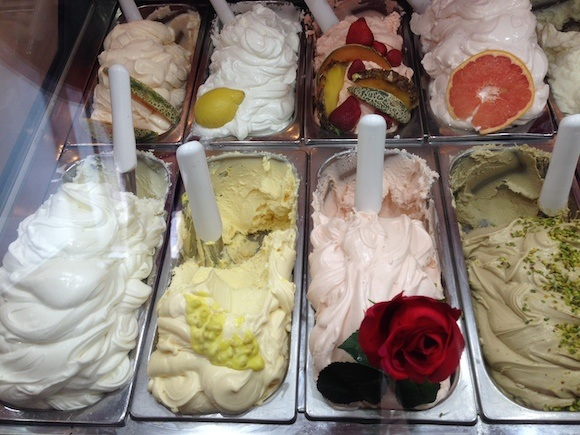Gelato at Profumo di Rosa in Genoa Photo: Heatheronhertravels.com
