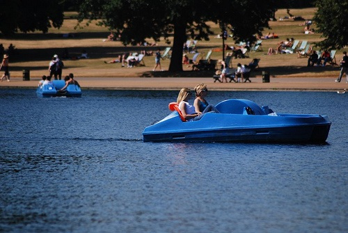 Hire a Pedalo in Hyde Park