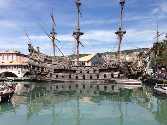 Ship used in the film Pirates of the Caribbean Photo: Heatheronhertravels.com