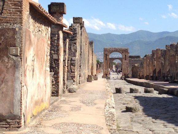 View of Pompeii Photo: Heatheronhertravels.com