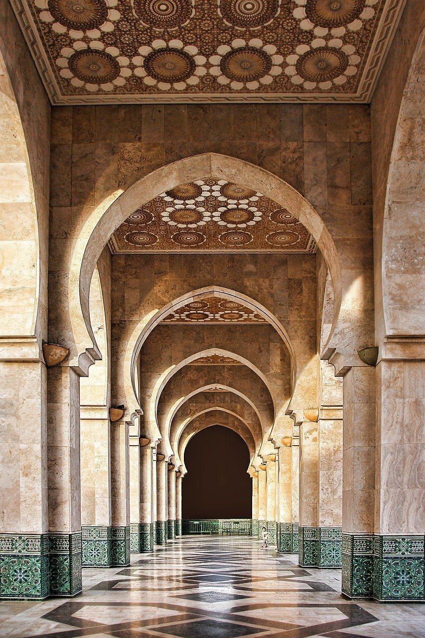 Mosque Hassan II in Casablanca Photo by Gregmontani pixabay