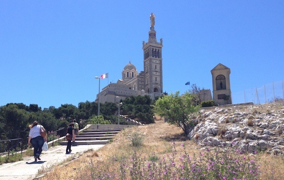 Notre Dame de la Garde Marseille Photo: Heatheronhertravels.com