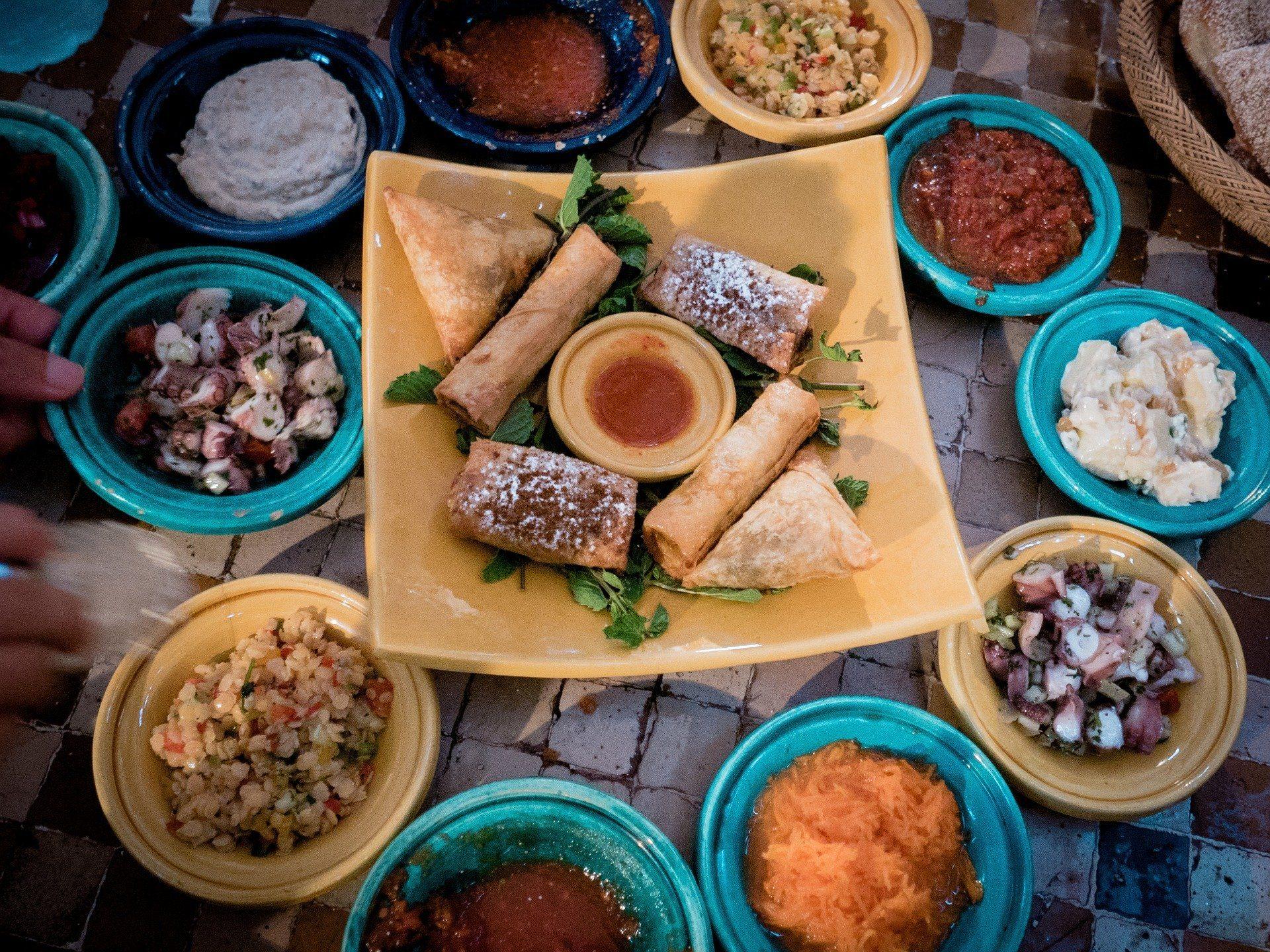Food in Casablanca Photo TheUjulala on Pixabay
