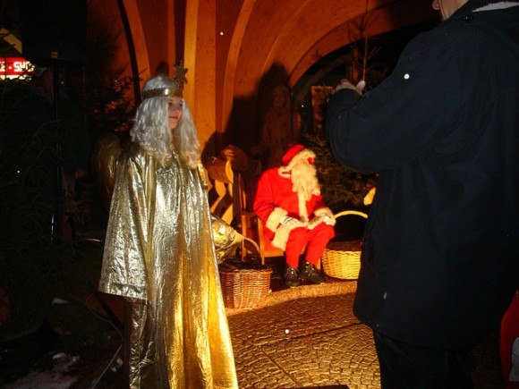 Father Christmas comes to Filzmoos