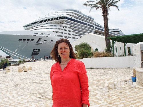 Our cruise stop in Tunis on MSC Splendida Photo: Heatheronhertravels.com