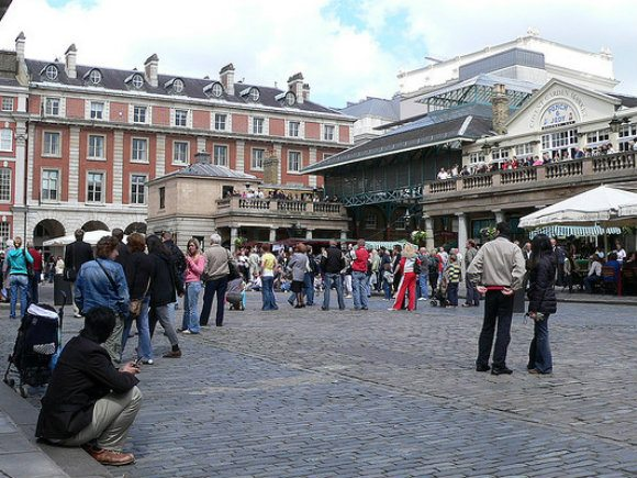 Piazza Covent Garden Photo: SPakhrin on Flickr