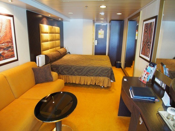 Stateroom 13140 on board MSC Splendida with MSC Cruises