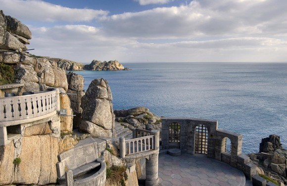 The Minack Theatre Porthcurno Photo: Martin Hartland