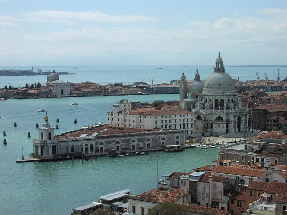 The sail into Venice is a magical cruise experience