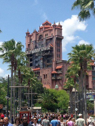 Hollywood Tower in Disneyworld