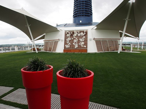 Lawn Club on Celebrity Eclipse Photo: Heatheronhertravels.com