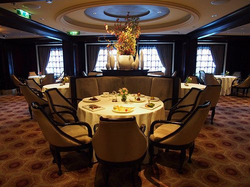 Murano restaurant for high end dining on Celebrity Eclipse Photo: Heatheronhertravels.com