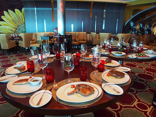 Tuscan Grille restaurant on Celebrity Eclipse Photo: Heatheronhertravels.com