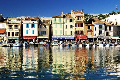 Port of Cassis in France Photo: Vincent Brassine on Flickr