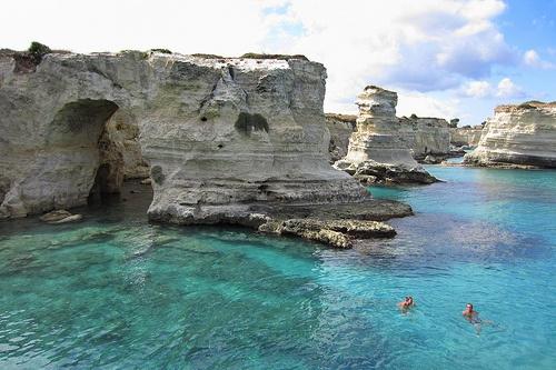 Sant'Andrea cliffs in Salento, Italy Photo: Vittorio Ferrari