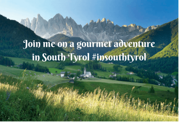 Join me on a gourmet adventure in South Tyrol