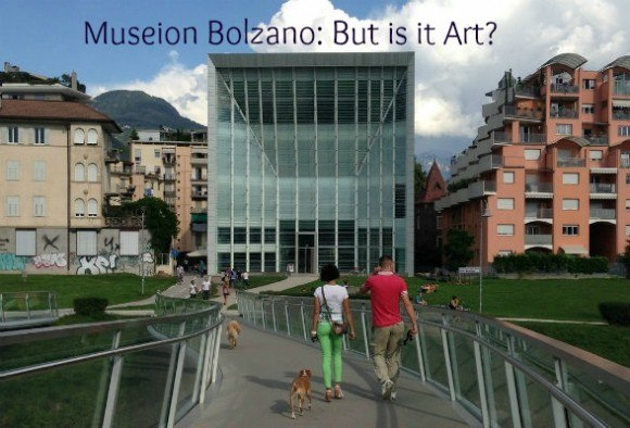 Contemporary art at Museion in Bolzano, South Tyrol, Italy
