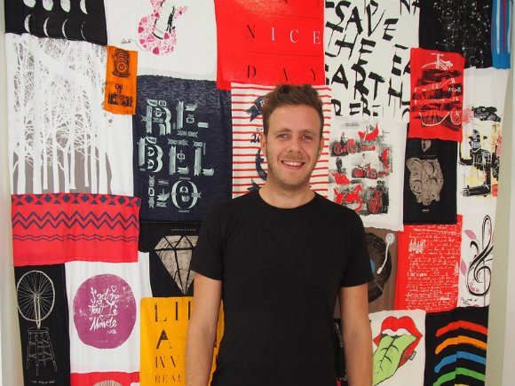 Daniel Tocca, CEO of Re-Bello Sustainable Street style from South Tyrol, Italy