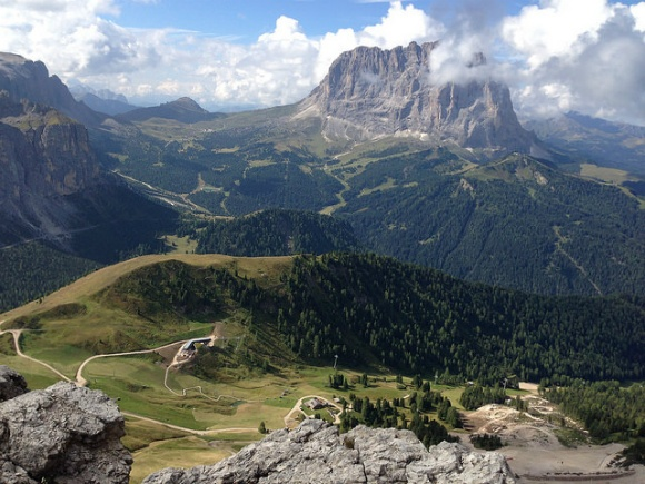 Views of the Dolomites from Piccola Cir, South Tyrol Photo: Heatheronhertravels.com