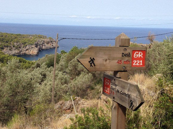 Dry stone route from Deia to Soller, Mallorca