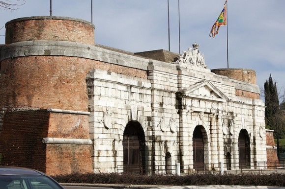 Corso Porta Nuova in Verona, Italy