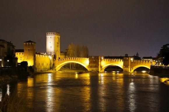Pietra bridge in Verona, Italy