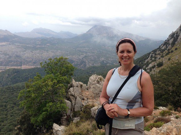 Walking up to Puig d'en Galileu, Mallorca Photo: Heatheronhertravels.com