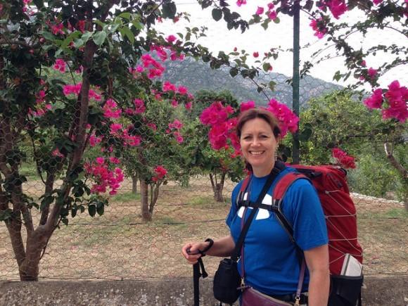 Walking through the lemon groves outside Soller in Mallorca Photo: Heatheronhertravels.com