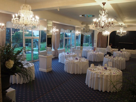 Crystal room at Moorland Garden Hotel in Devon