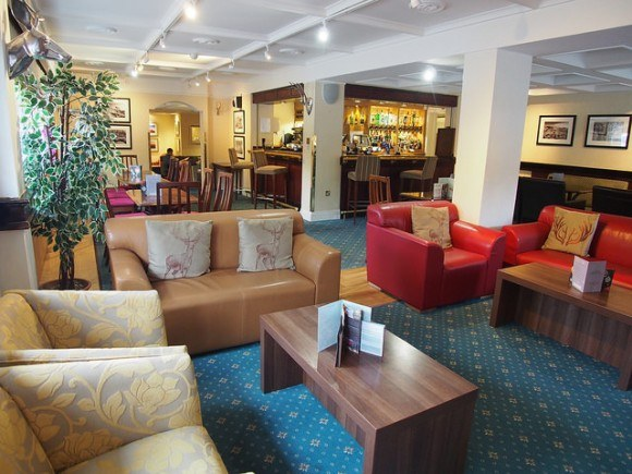 Dartmoor bar at Moorland Garden Hotel in Devon