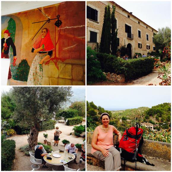 Can Prohom between Deia to Soller, Mallorca