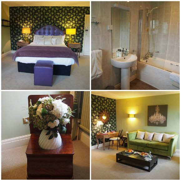 Lily of the valley room at Moorland Garden Hotel in Devon