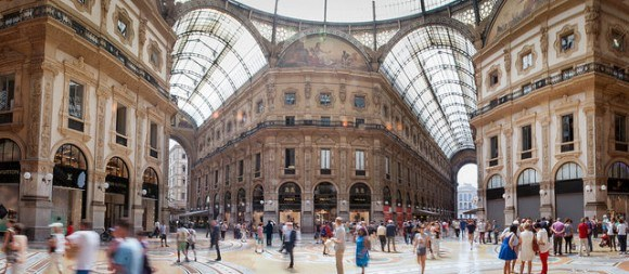 Shopping In Milan Photo: Mike and Annabel Beales on Flickr