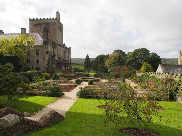 Gardens at Buckland Abbey in Devon Photo: Heatheronhertravels.com