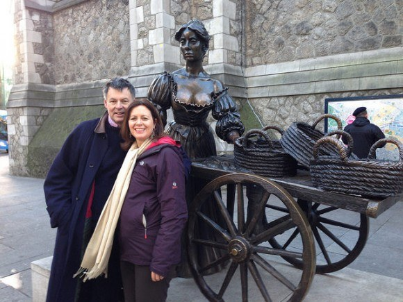 Molly Mallone Statue in Dublin Photo: Heatheronhertravels.com