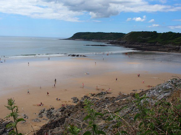 Caswell Bay on the Gower Peninsula, South Wales Photo: Heatheronhertravels.com