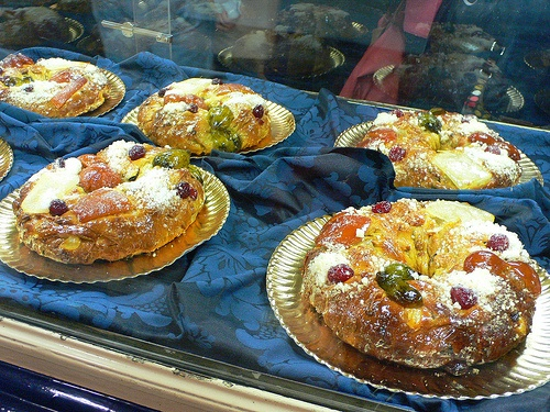 Bolo Rei of King cake in Lisbon Photo: Heatheronhertravels.com