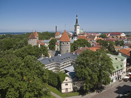 Sightseeing in Talinn, Estonia