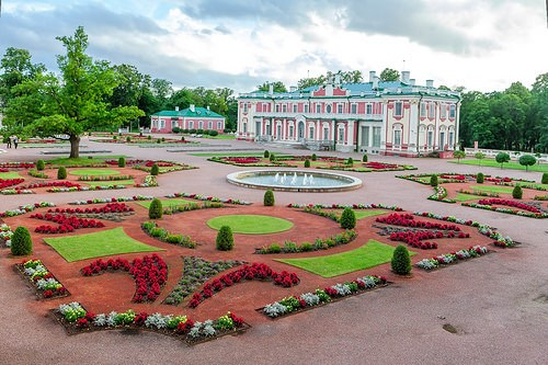 The Kadriorg Park and Palace in Talinn, Estonia
