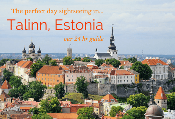 A one-day sightseeing guide to Tallinn in Estonia