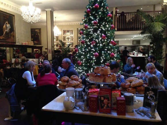 Bewleys in Dublin at Christmas Photo: Heatheronhertravels.com