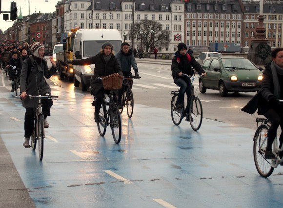 Bicycles are everywhere on the streets of Copenhagen Photo: Heatheronhertravels.com