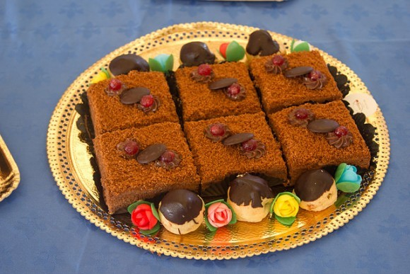 Chocolate treats at the Grenada Chocolate Festival