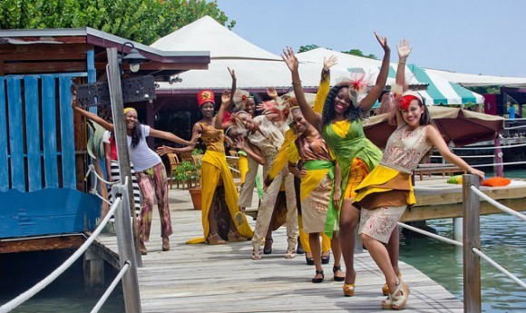Grenadian fashion at the Grenada Chocolate Festival