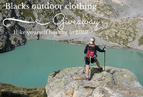 Hike yourself healthy in 2015 – Outdoor clothing giveaway with Blacks