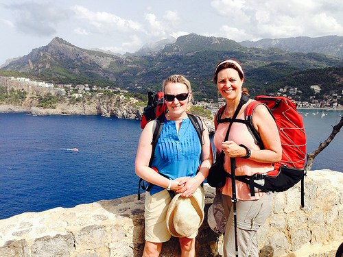 Walking the dry stone route in Mallorca Photo: Heatheronhertravels.com