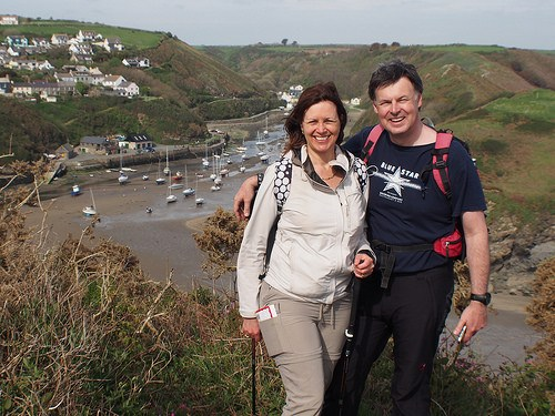Above Solva on the Pembrokeshire coastal path Photo: Heatheronhertravels.com
