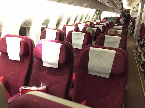 Flying Economy Class on Jet Airways to Mumbai