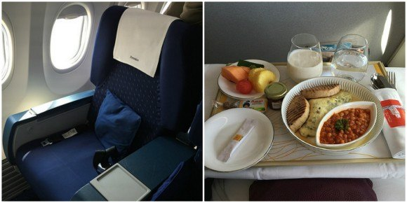 Flying Premiere Class on Jet Airways from Bengaluru to Mumbai Photo: Heatheronhertravels.com